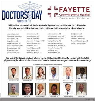 Doctors Day - March 30