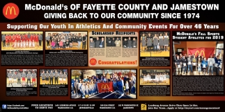 Supporting Our Youth In Athletics And Community Events For Over 46 Years