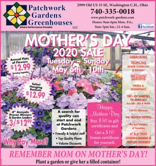 Mother's Day 2020 Sale