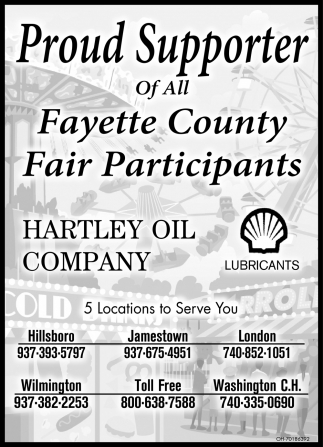 Proud Supporter of All Fayette County Fair Participants