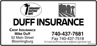 Mike Duff - Crop Insurance