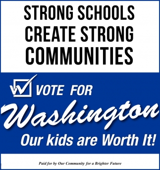 Strong Schools Create Strong Communities
