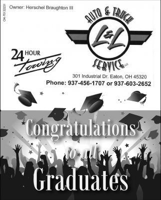 Congratulations to all Graduates