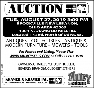 Auction August 27
