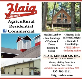 Agricultural ~ Residential ~ Commercial