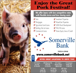 Enjoy the Great Pork Festival!
