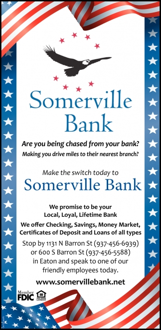 We promise to be your Local, Loyal, Lifetime Bank
