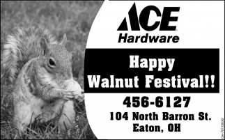 Happy Walnut Festival!