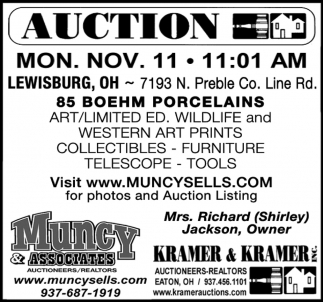 Auction - Nov. 11