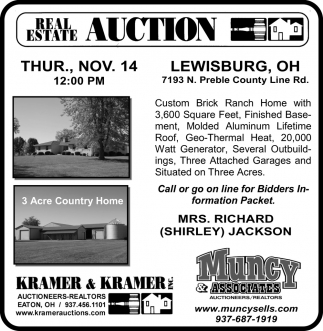 Auction - Nov. 14