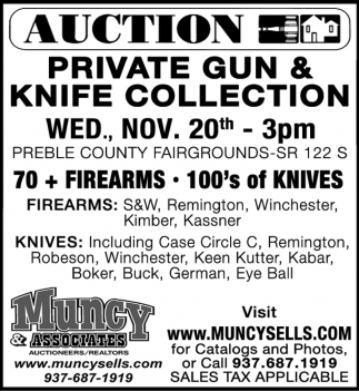 Auction - Nov. 20th