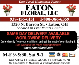 Your local Hometown Florist