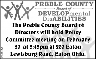 Committee meeting - February 20