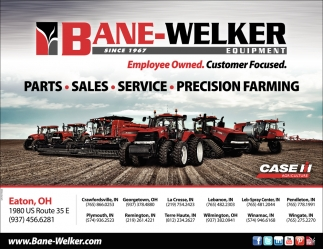 Parts - Sales - Service - Precision Farming
