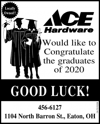 Congratulate the Graduates of 2020