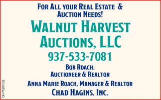 For All Your Real Estate & Auction Needs!