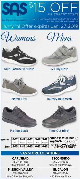 SAS Shoes, El Cajon, CA