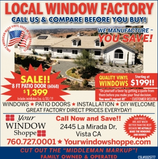 Local Window Factory