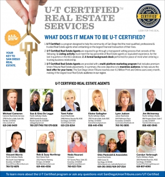 U-T Certified Real Estate Services