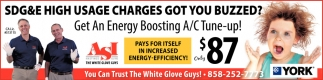 Get an Energy Boosting A/C Tune Up