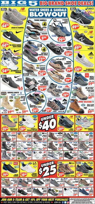 Big Brand Shoe Deals