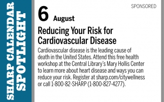 Reducing Your Risk for Cardiovascular Disease