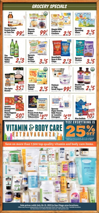 Grocery Specials