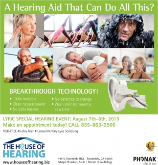 A Hearing Aid that Can Do All This
