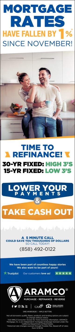 Time to Refinance