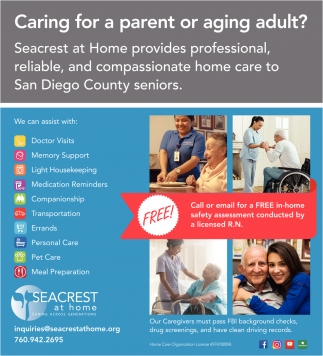 Caring for a Parent or Aging Adult?
