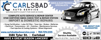 Complete Auto Service & Repair Center
