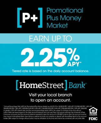 Earn Up to 2.25% APY