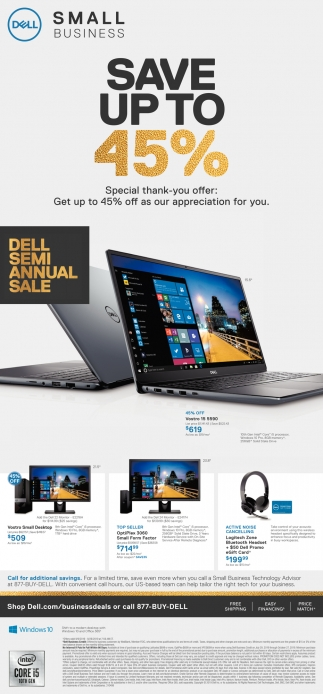 Dell Semi Annual Sale