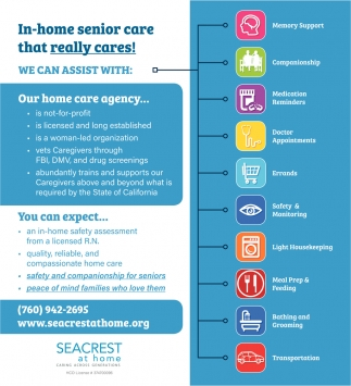 In-Home Senior Care that Really Cares