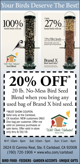Your Birds Deserve the Best