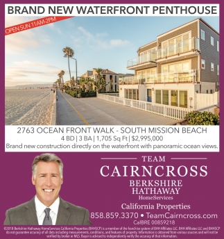 Brand New Waterfront Penthouse