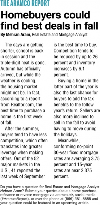Homebuyers Could Find Beast in Fall