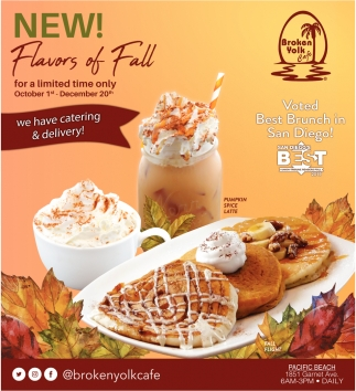 New! Flavors of Fall