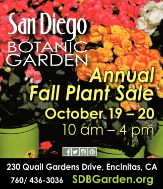 Annual Fall Plant Sale