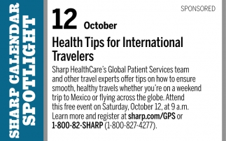 Health Tips for International Travelers