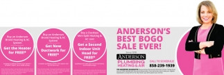 Anderson's Best BOGO Sale Ever!