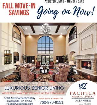 Fall Move-In Savings