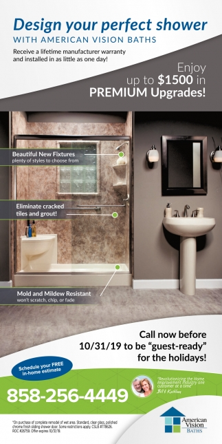 Design Your Perfect Shower