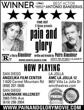 Pain and Glory Movie