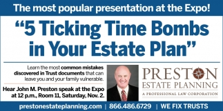 5 Ticking Time Bombs in Your Estate Plan