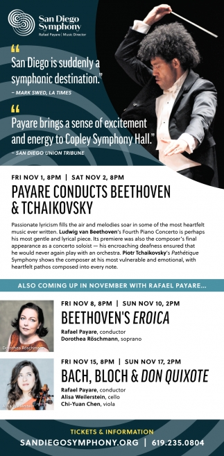 Payare Conducts Beethoven & Tchaikovsky