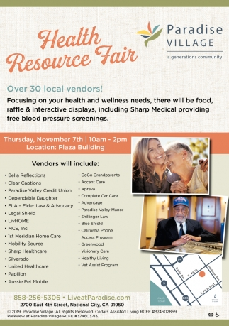 Health Resource Fair