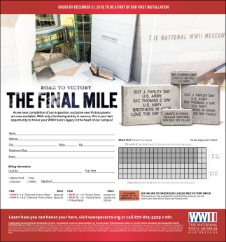 The Final Mile