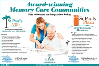 Award-Winning Memory Care Communities