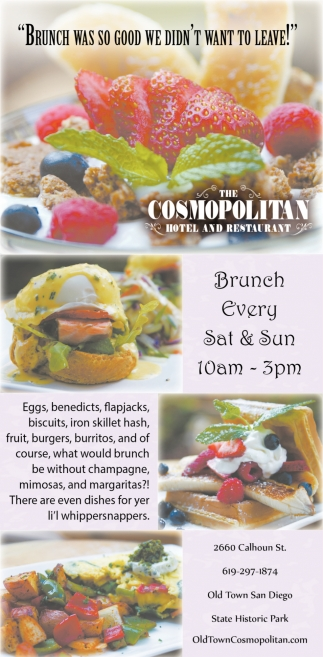 Brunch Every Sat & Sun